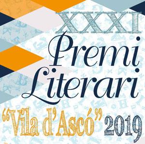 XXXI Premi Literari 'Vila d'Ascó' - Ascó 2018