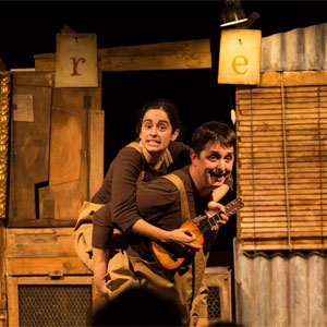Espectacle 'Els ous de la gallina' de la companyia Zum Zum Teatre