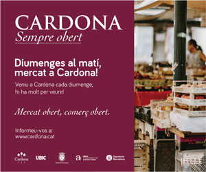Mercat de Cardona - Cardona, sempre obert