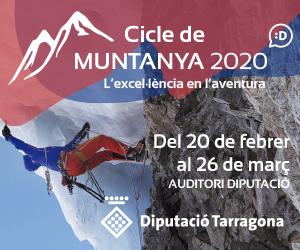 Diputació de Tarragona - Cicle de Muntanya 2020