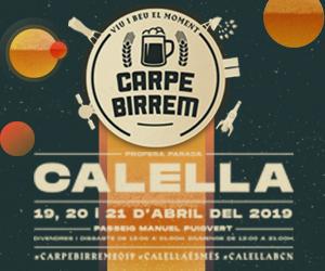 Carpe Birrem Calella 2019