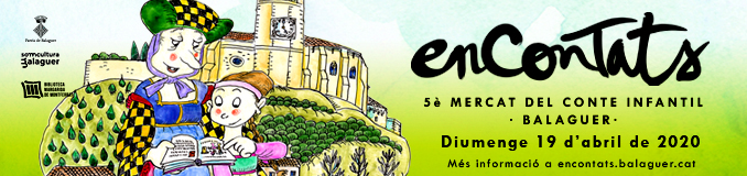 Encontats - 5è Mercat del conte infantil - Balaguer