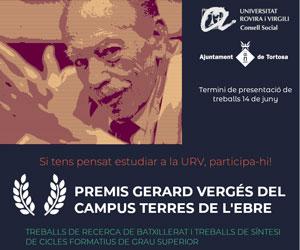 Premis Gerard Vergés URV-CTE