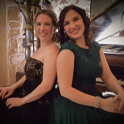 Eugenia Boix (soprano) i Laia Masramon (fortepiano)