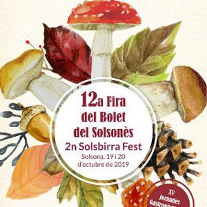 12a Fira del Bolet i el Boletaire del Solsonès - Solsona 2019