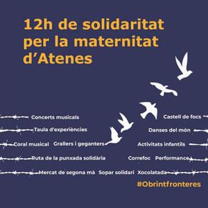 12h de solidaritat per la maternitat d'Atenes - Horta de Sant Joan 2019