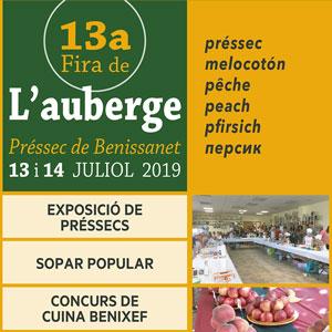 13a Fira de l'Auberge - Benissanet 2019