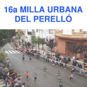16a Milla Urbana - El Perelló 2019
