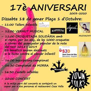 17è Aniversari dels Diabmonis La Ràpita - 2020