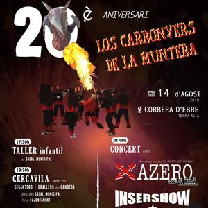 20è aniversari Los Carronyers de la Muntera - Corbera d'Ebre 2019