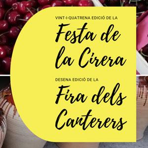 24a Festa de la Cirera i 10a Fira dels Canterers - Miravet 2019