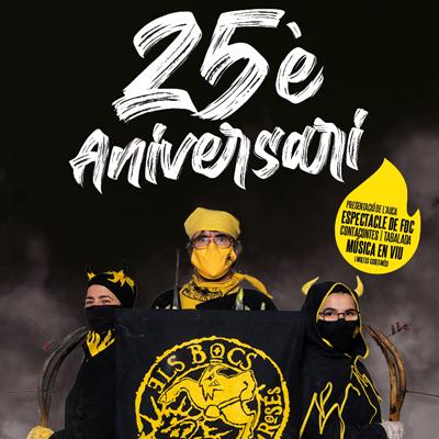 25è aniversari Els Bocs de Can Rosés - Barcelona 2021