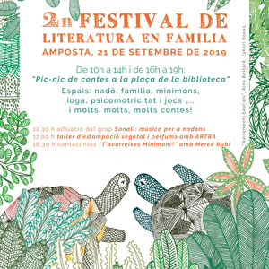 2n Festival de Literatura en Família - Amposta 2019