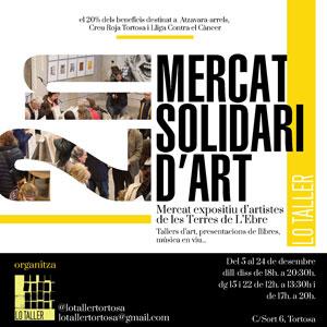 2n Mercat Solidari d'Art - Tortosa 2019