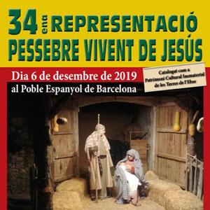 34è Pessebre Vivent de Jesús 2019