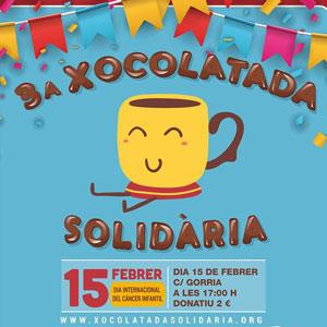 3a Xocolatada solidària - La Ràpita 2020