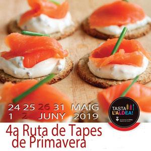 4a Ruta de Tapes de Primavera - L'Aldea 2019
