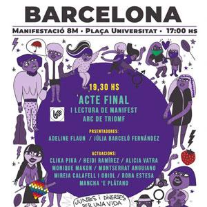 Manifestació 8M - Barcelona 2020