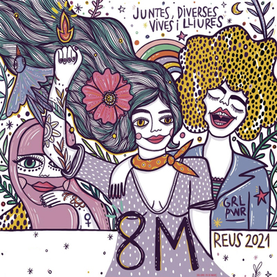 Dia Internacional de les Dones a Reus, 2021