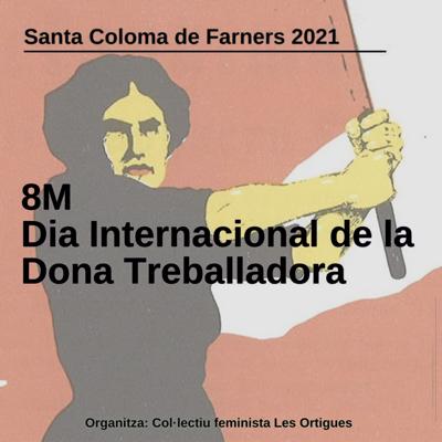 Dia Internacional de la Dona a Santa Coloma de Farners, 2021