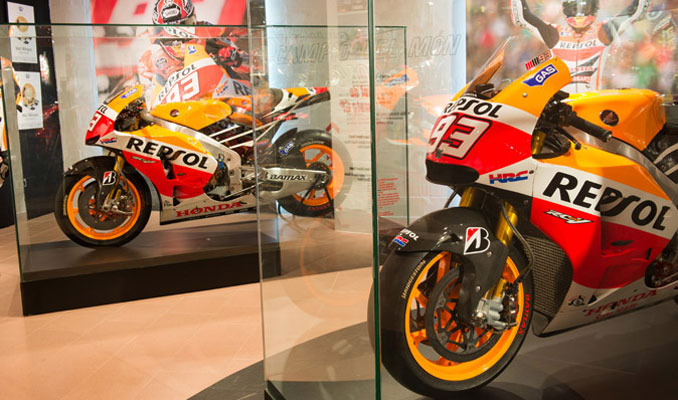 Exposició 'I'm 93' de Marc Màrquez - Museu Comarcal de Cervera