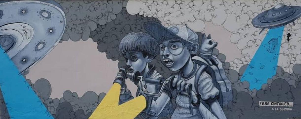 """Un dels darrers treballs de """"A la sombra"""", a Ascó."""