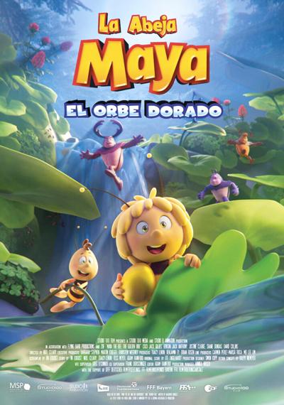 La abeja Maya. El orbe dorado