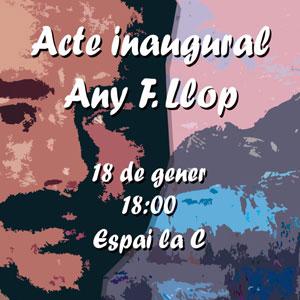 Acte inaugural Any Francesc Llop - Campredó 2020