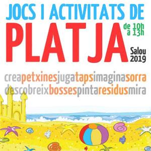 Jocs i Activitats a la Platja a Salou, 2019