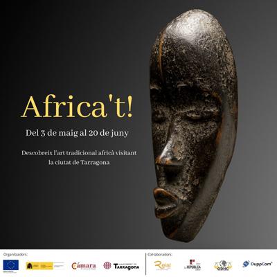 Festival d'art 'Africa't!' als comerços de Tarragona