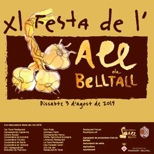 Festa de l'All de Belltall, 2019
