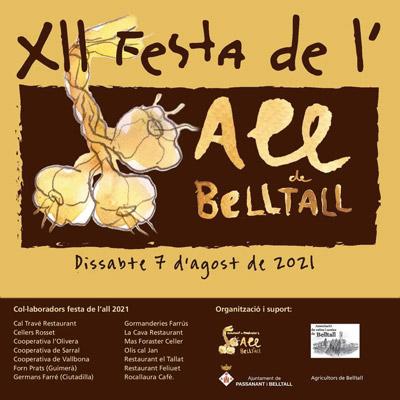 Festa de l'All de Belltall, 2021