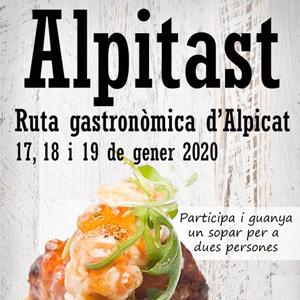 Ruta gastronòmica Alpitast, Alpicat, 2020
