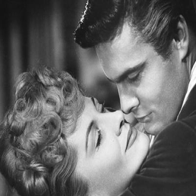 Pel·lícula romàntica en blanc i negre