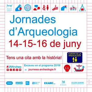 Jornades Europees de l'Arqueologia, 2019