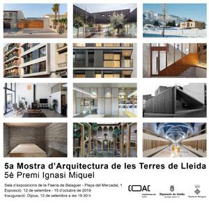 Exposició '5a Mostra d'Arquitectura de les Terres de Lleida'