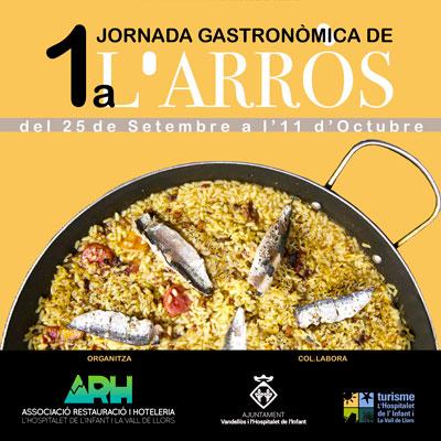 Jornada gastronòmica de l'arròs a l'Hospitalet de l'Infant, 2020