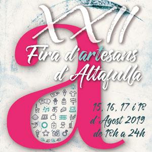 XXII Fira d'Artesans d'Altafulla, 2019