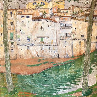 Quadre de l'exposició permanent del Museu d'ARt de Girona
