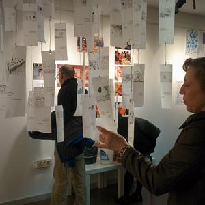 Exposició 'L'artista va a l'escola' a l'Espai Jove Kesse, Tarragona, 2020