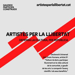 Cicle 'Artistes per la Llibertat' - 2020