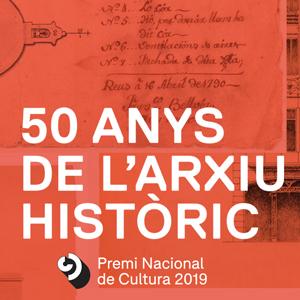Exposició '50 anys de l'Arxiu Històric' al COAC Lleida, Lleida, 2020