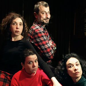 Espectacle 'Assassinat al club' - Impro Barcelona