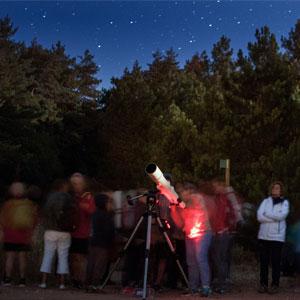 Jornada d'astronomia i contaminació lumínica al Museu de la Vida rural, 2019
