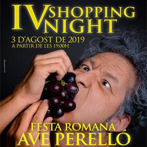 IV Shopping Night. Ave Perelló -  El Perelló 2019