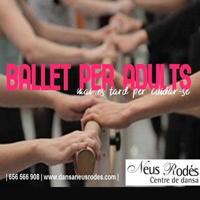 Curs de ballet per adults - Centre de dansa Neus Rodés 2021