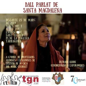 Ball parlat de Santa Magdalena a Tarragona, 2019