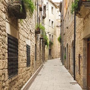 Visita guiada 'Banyoles medieval: del carrer al campanar', Carrer, Banyoles, 2019