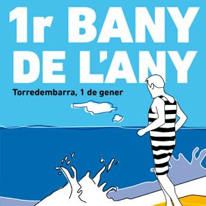 1er bany de l'any a Torredembarra, 2019, 2020