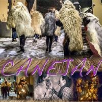 Muntatge d'imatges de la festa del Barbacans de Canejan